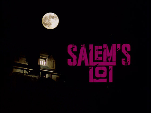Salem's Lot movie titolo screen
