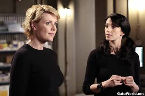 Sam and Vala