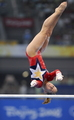Shawn Johnson on Bars