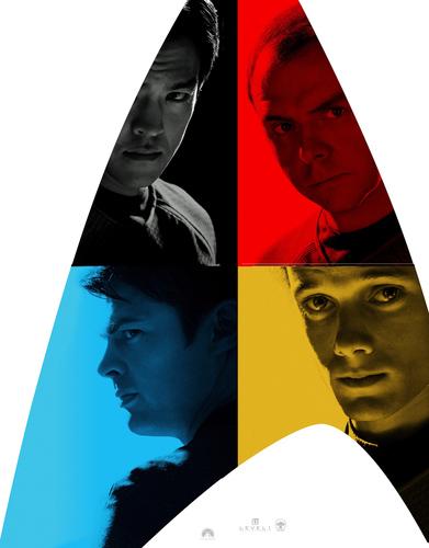 ngôi sao Trek XI - Character Posters