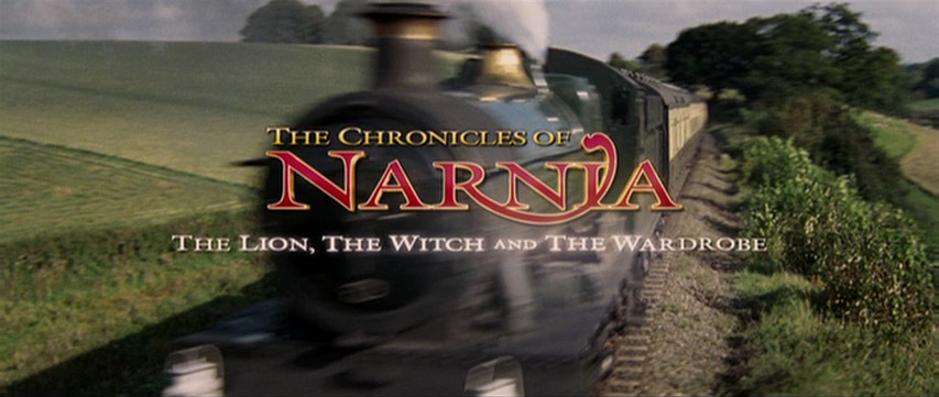 The Chronicles Of Narnia movie stitle screen