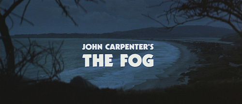 The Fog movie titel screen