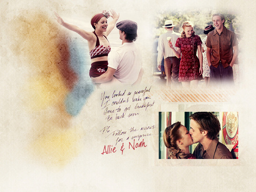 The Notebook wallpaper probably containing a newspaper and anime called The Notebook <3