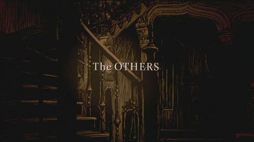 The Others movie título screen