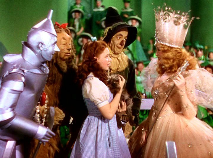 how the wizard of oz relates Watch video directed by victor fleming, george cukor, mervyn leroy with judy garland, frank morgan, ray bolger, bert lahr dorothy gale is swept away from a farm in kansas to a magical land of oz in a tornado and embarks on a quest with her new friends to see the wizard who can help her return home in kansas and help her.