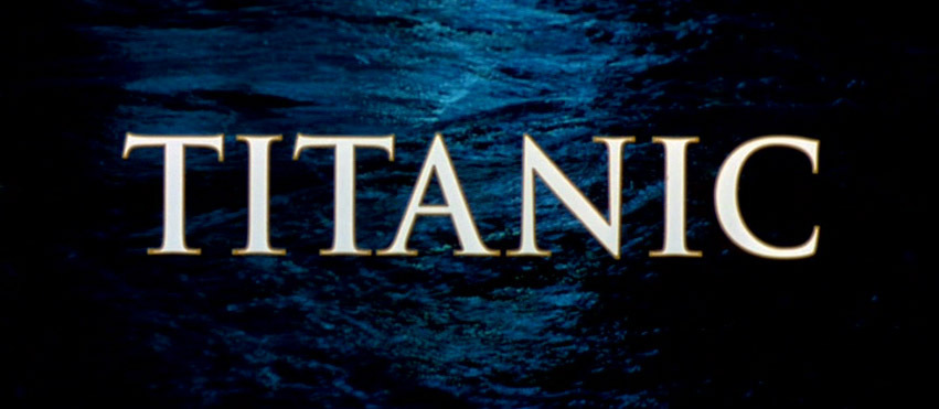 titanic movie title screen movies photo 2075336 fanpop