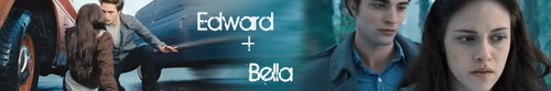 Twilight Edward and Bella Banners