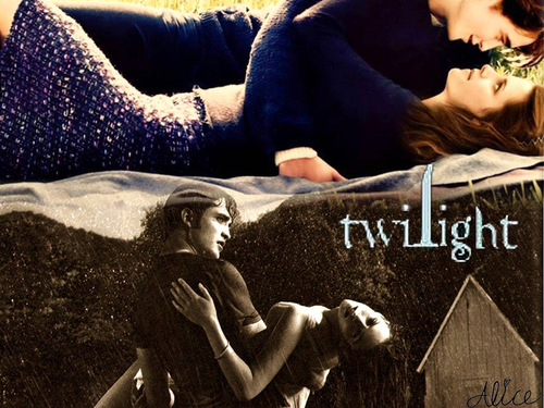Twilight kertas dinding