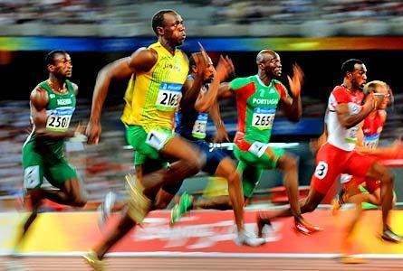 The Olympics Images Usain Bolt 100m World Record Holder Wallpaper And Background Photos