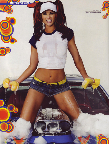 diva wwe wallpaper possibly with hot pants and celana panas titled Victoria - Car Wish