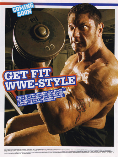 美国职业摔跤 Magazine - 巴蒂斯塔