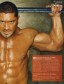 WWE Magazine - Batista - batista photo