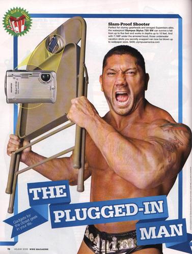 WWE Magazine Holiday '06