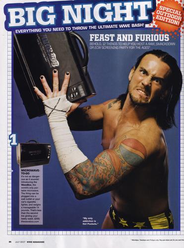 wwe Magazine July '07
