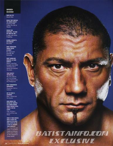 WWE Magazine March '07