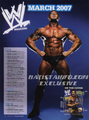 WWE Magazine March '07