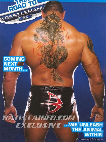 WWE Magazine Spring Vorschau '07