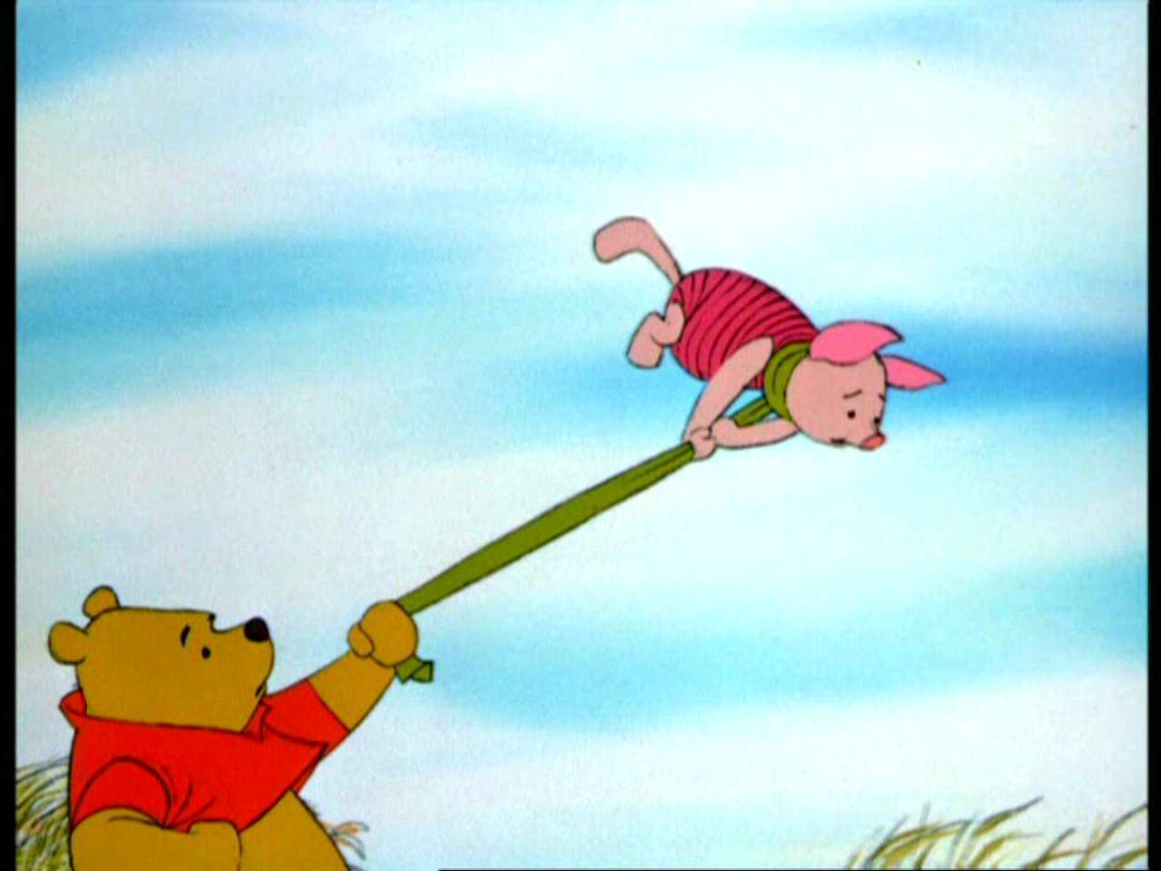 Pooh Bear and the Blustery Day