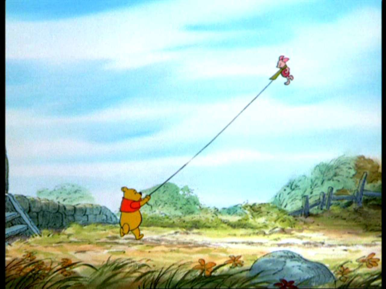 Winnie the Pooh and the Blustery день