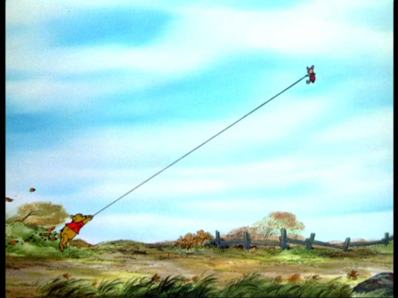 Winnie the Pooh and the Blustery siku