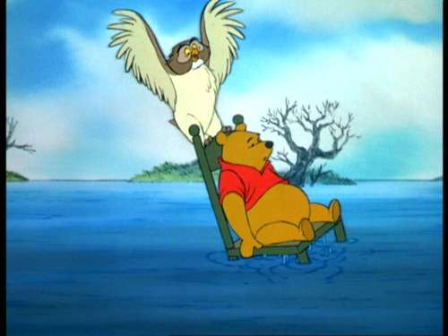 winnie the pooh wallpaper with anime entitled Winnie the Pooh and the Blustery hari