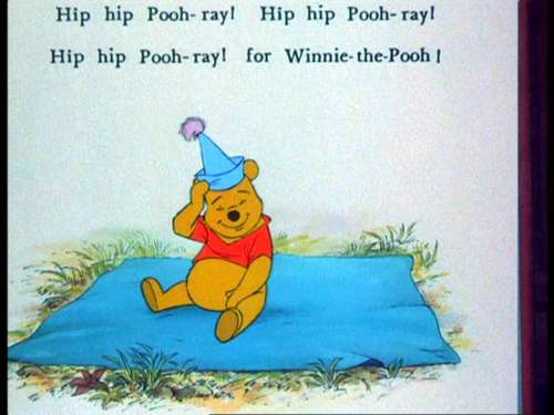 Winnie the Pooh wolpeyper probably with anime titled Winnie the Pooh and the Blustery araw