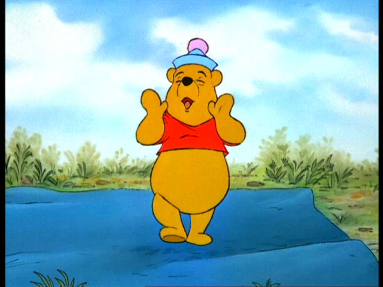 Winnie the pooh and the blustery day winnie the pooh image 2022940