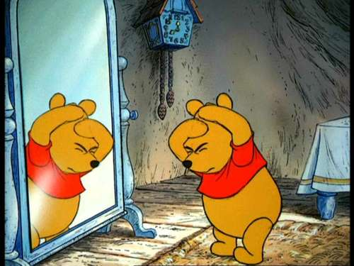 Winnie the Pooh wallpaper called Winnie the Pooh and the Hunny albero
