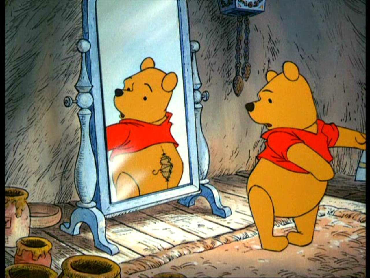 Winnie the Pooh and the Hunny 树
