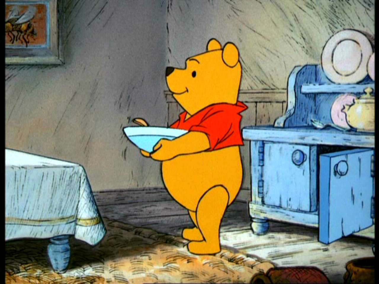 Winnie the Pooh and the Hunny درخت