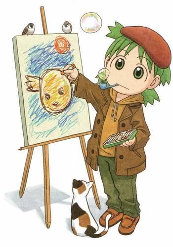 Обои of yotsuba обои for фаны of yotsuba! yotsuba!, images, image, wallpaper, photos, photo, photograph, gallery