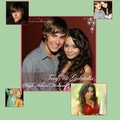 ZAC EFRON & VANESSA HUDGENS - high-school-musical fan art