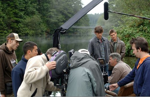 behind the scenes of dead in the water