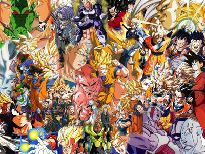 Dragon Ball Z Hintergrund entitled dragonballz