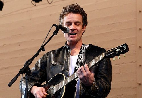 James Marsters wallpaper with a guitarist and a concert called indie music fest