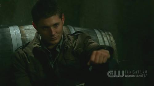 jensen as Dean Winchester