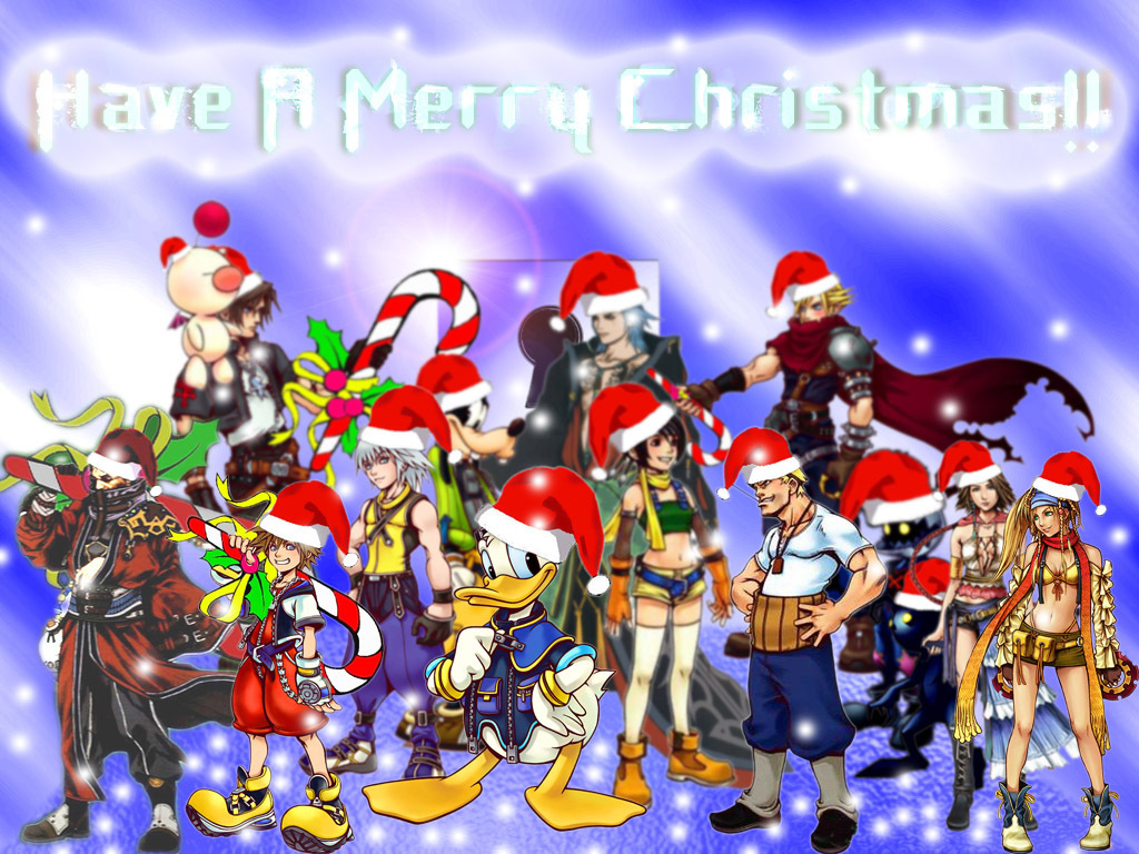 Kingdom Hearts images kh christmas HD wallpaper and background ...