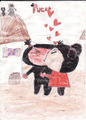 pucca kissing garu - pucca photo