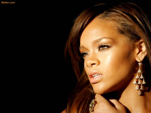 Rihanna wallpaper with a portrait titled rihanna wallpaper