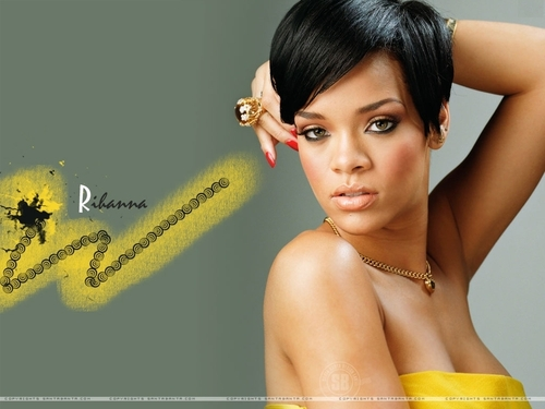 Rihanna wallpaper containing a portrait and skin called Rihanna wallpaper