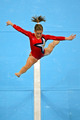 Shawn Johnson on Beam