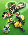 sora,donald,goofy and roxas - kingdom-hearts photo