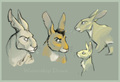 the Rabbits of Watership Down by lyosha - watership-down fan art