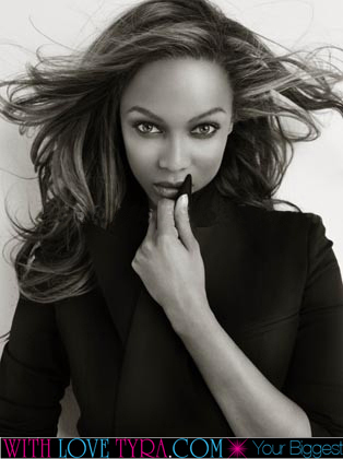 Tyra Banks wallpaper with a well dressed person and a portrait entitled tyra banks