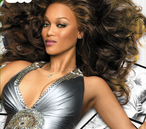tyra banks wallpaper probably containing a coquetel dress, a bustier, and a jantar dress called tyra banks