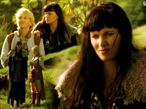 xena and gabby - xena-warrior-princess Wallpaper