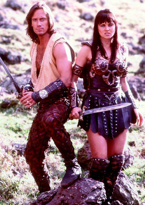 Hercules - The Legendary Journey's images xena and herc