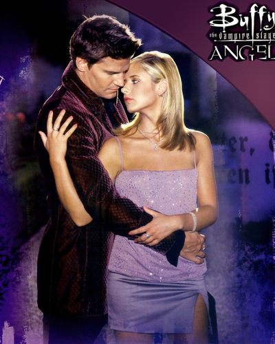 01 Angel & Buffy - buffy-the-vampire-slayer Photo