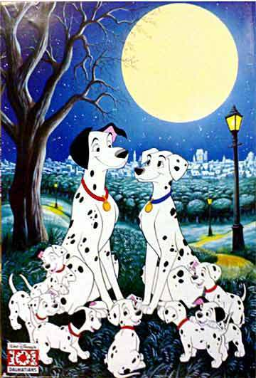 101 Dalmatians Wallpaper