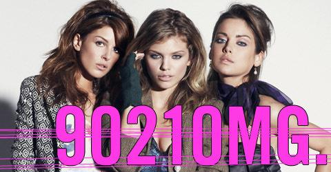 90210 girls in Nylon